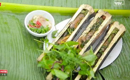 Khó quên hương vị đặc sản lươn nướng Nghệ An
