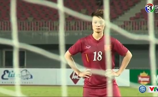 VIDEO: Xem lại loạt luân lưu kịch tính giữa ĐT nữ Việt Nam - ĐT nữ Thái Lan