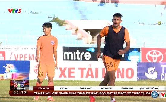 SHB Đà Nẵng quyết giành 3 điểm trước Đồng Tháp và chờ bất ngờ ở vòng cuối V.League 2016