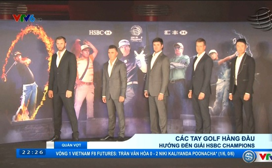 Golf: Rory McIlroy hướng tới giải golf HSBC Champions Thượng Hải