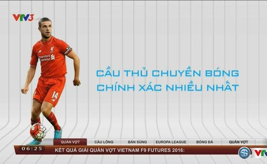 Điểm danh những chân chuyền tốt nhất tại giải Ngoại hạng Anh 2016/17