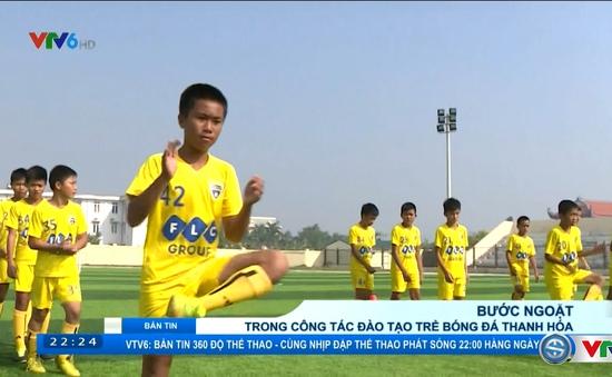Bước ngoặt trong công tác đào tạo bóng đá trẻ ở Thanh Hóa