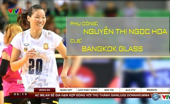 Ngọc Hoa và dấu ấn tại giải các CLB bóng chuyền nữ thế giới 2016