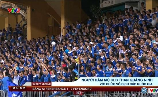 CLB Than Quảng Ninh giành cúp QG 2016: Món quà giành tặng NHM
