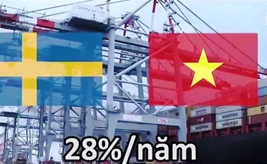 """""""Thụy Điển luôn chào đón các doanh nghiệp xuất khẩu Việt Nam"""""""