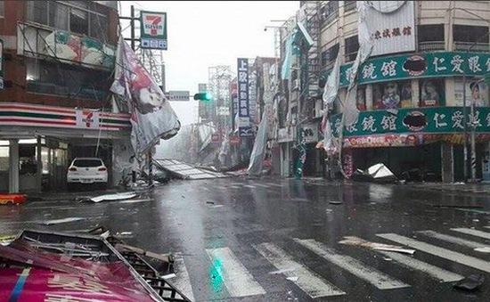 Siêu bão Nepartak đổ bộ vào Trung Quốc
