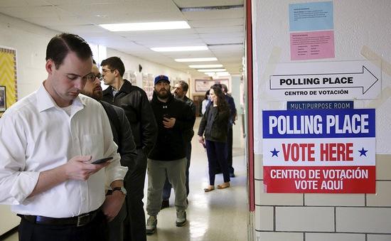 """Vermont và Virginia mở đầu cho ngày bầu cử """"Siêu thứ Ba"""" tại Mỹ"""