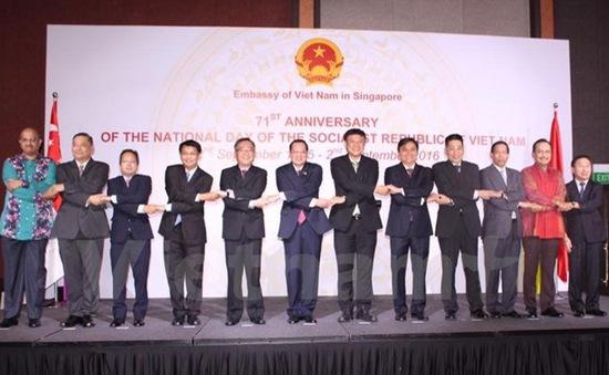 Thắt chặt mối quan hệ hợp tác chiến lược giữa Việt Nam-Singapore