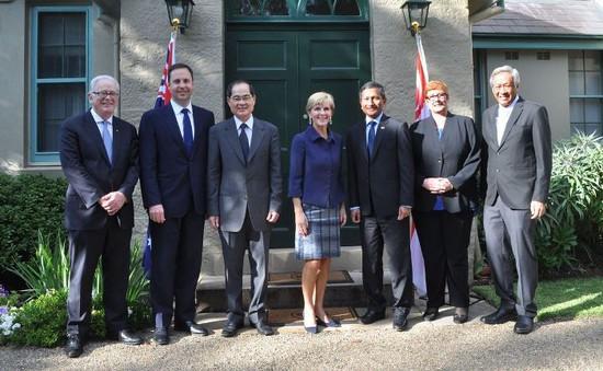 Australia - Singapore tăng cường hợp tác