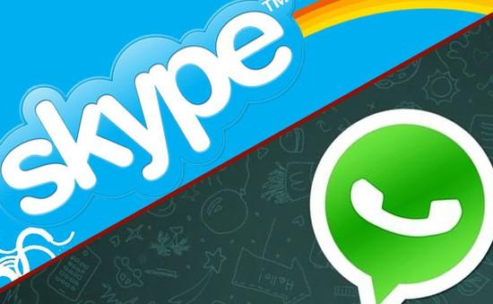 Skype và WhatsApp đang sở hữu quá nhiều thông tin người dùng