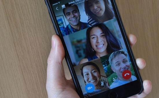 Skype tích hợp thêm tính năng gọi video nhóm trên iOS và Android