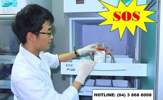 Thiếu máu trầm trọng sau Tết tại nhiều bệnh viện