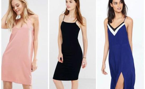Slip dress - Xu hướng váy gợi cảm cho mùa hè