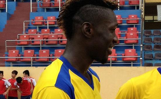 SLNA hoàn tất hợp đồng với tuyển thủ quốc gia Nigeria