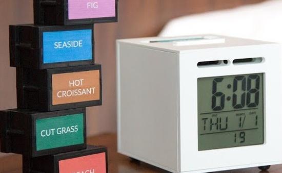 Sensorwake - Đồng hồ báo thức bằng mùi hương hoạt động ra sao?