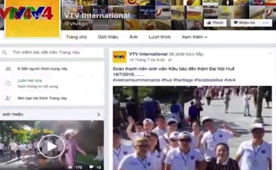 Đẩy mạnh sản xuất nội dung số trên Kênh Truyền hình Đối ngoại
