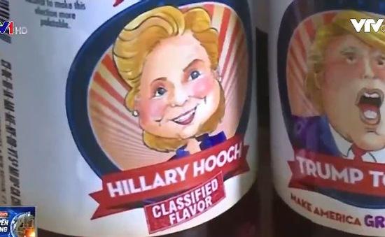 Sản xuất nước soda có hương vị Trump và Clinton