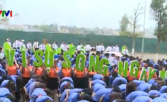 1.000 sinh viên đồng hành chống biến đổi khí hậu