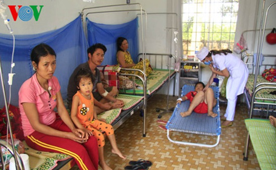 Dịch sốt xuất huyết xảy ra ở 48/50 huyện Tây Nguyên