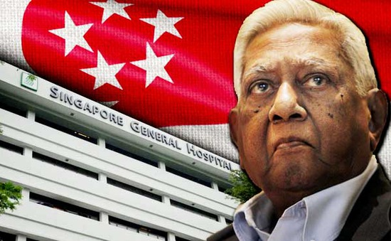 Cựu Tổng thống Singapore SR Nathan qua đời ở tuổi 92