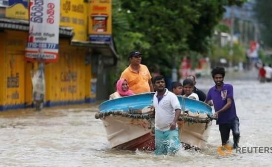 Lũ lụt và lở đất tại Sri Lank: 63 người đã thiệt mạng