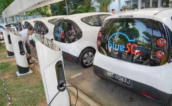 Singapore đặt mục tiêu có 50% ô tô điện vào năm 2050