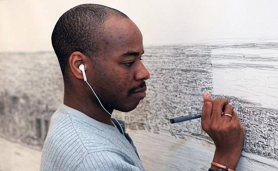 Người mắc chứng tự kỷ trở thành thiên tài hội họa