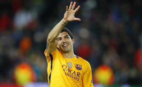 """Suarez """"vui quá chừng"""" sau khi lập cú đúp hạ Atletico"""