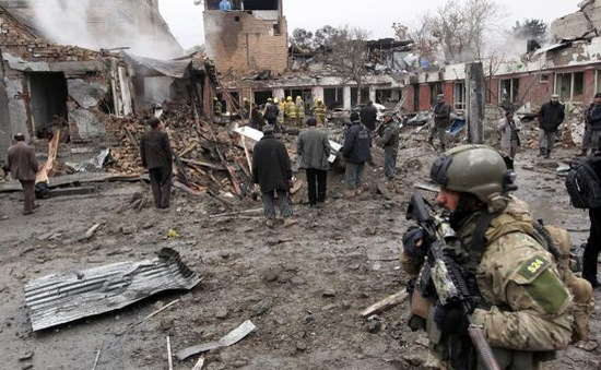 Đánh bom tự sát tại Afghanistan, hơn 60 người thương vong