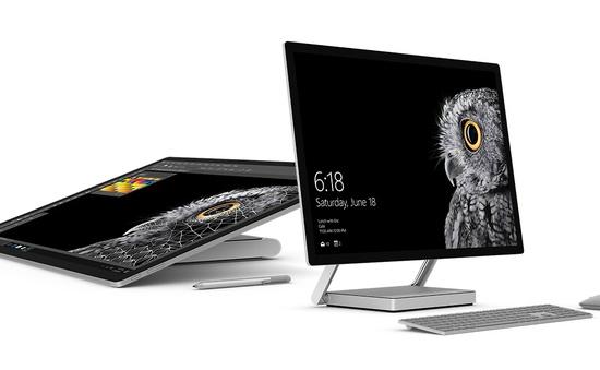 """Microsoft ra mắt máy tính Surface Studio """"quyết đấu"""" iMac"""