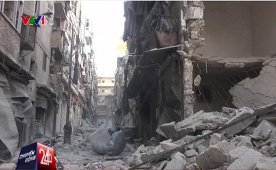 Liên tiếp xảy ra không kích ở Aleppo bất chấp lệnh ngừng bắn