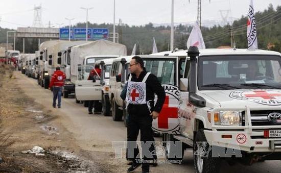 Khoảng 40.000 cư dân Syria được nhận hàng cứu trợ