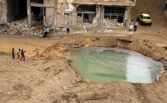 Syria: Gần 2 triệu người dân ở Aleppo không có nước sinh hoạt