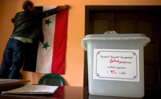 Hàng nghìn điểm bỏ phiếu tại Syria mở cửa đón cử tri