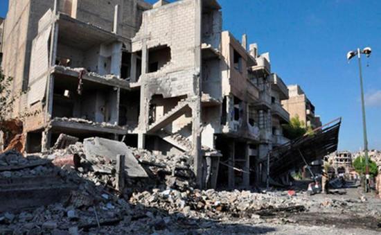 Syria rung chuyển vì hàng loạt vụ đánh bom liều chết