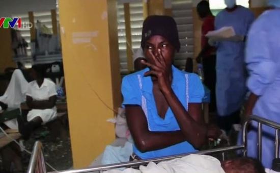 Dịch tả hoành hành tại Haiti sau bão Matthew