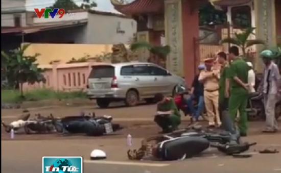 Đăk Lăk: Tai nạn liên hoàn khiến 3 người nhập viện