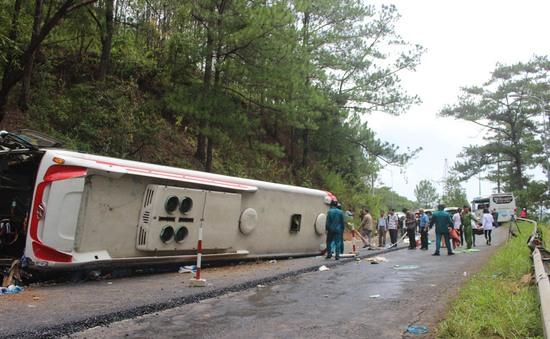 Xe khách gây tai nạn trên đèo Prenn do sự cố về phanh