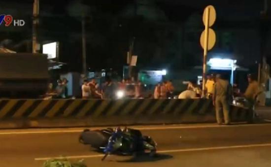 Bình Dương: Va chạm mạnh giữa 2 xe máy, 3 người bị thương nặng