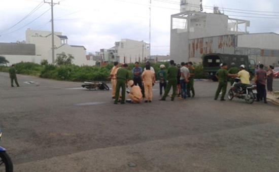 Bình Thuận: Xe máy va chạm xe tải, 1 người thiệt mạng