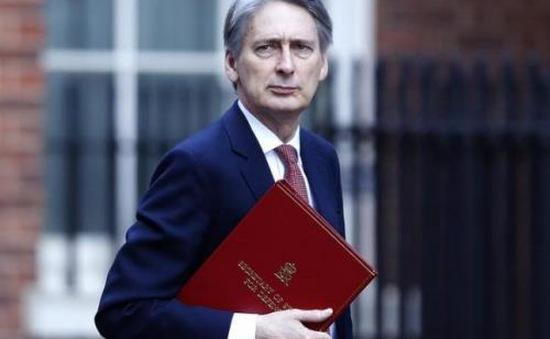 Tân Bộ trưởng Tài chính Anh yêu cầu BoE sẵn sàng ứng phó hậu Brexit