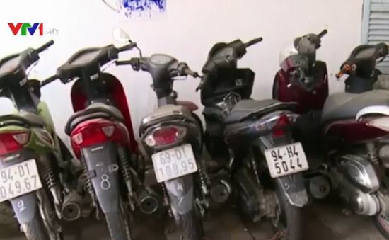 Băng nhóm trộm xe máy lớn nhất phía Nam bị triệt phá