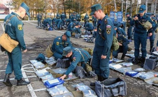 Nga diễn tập quốc phòng trong bối cảnh gia tăng căng thẳng với Mỹ