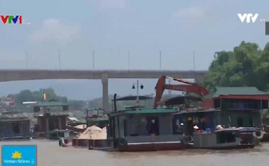 Phú Thọ: Nguy cơ mất an toàn từ hoạt động của các phương tiện thủy