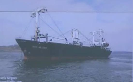 Cứu nạn 6 ngư dân bị chìm tàu trên biển