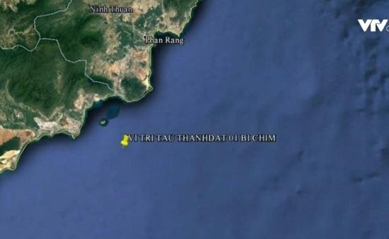 Va chạm tàu trên biển Vũng Tàu, 2 người mất tích