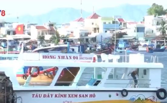 Ngư dân Khánh Hòa đầu tư tàu du lịch đáy kính