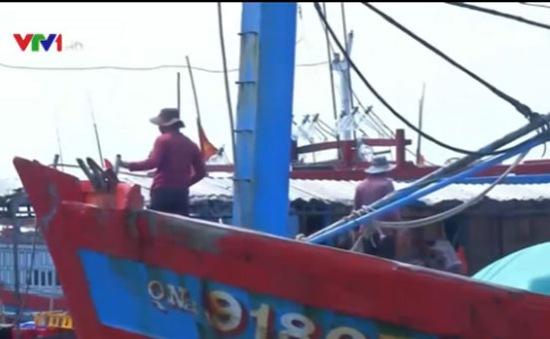Tàu cá nước ngoài đe dọa tàu cá Quảng Nam