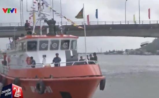 Tàu biên phòng hiện đại nhất Việt Nam được đưa vào sử dụng