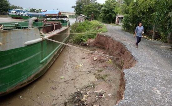 Cứu hộ tàu nước ngoài mắc cạn trên biển Thái Bình
